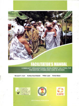 portada Facilitor's Manual. Community organizational development as a tool for prevention, stigma and care in HIV/AIDS